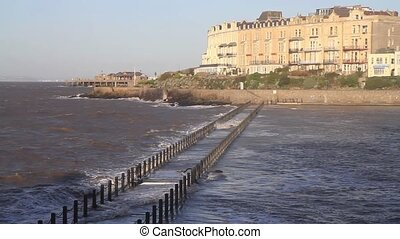 Marine Lake Weston-super-Mare UK - Marine Lake...