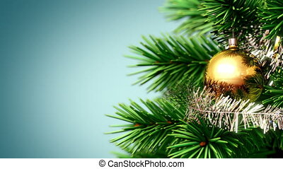 beautiful Christmas background, seamless looped 3d animation...