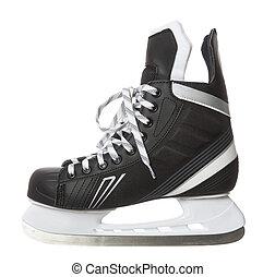 Ice skate isolated on white background