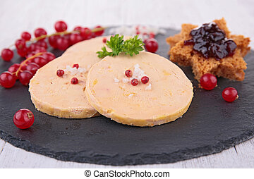 slice of foie gras