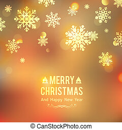 xmas background - vector christmas background with...