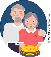 Grandparents Golden Anniversary Portrait