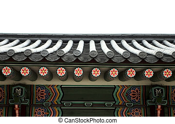 Old Palace in south korea,Roof