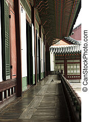 Old Palace in south korea