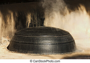 Traditional culture in south Korea,Kitchen Cauldron