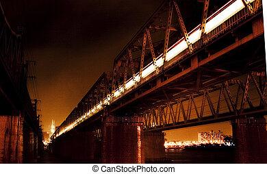 Han River Railway Bridge in South Korea