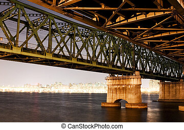 Han River Railway Bridge in South Korea