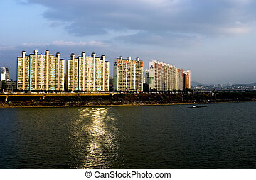 Apartments of the Han River , Seoul
