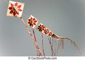 Traditional culture  in south Korea,kite flying