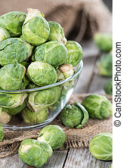 Fresh Vegetables (Brussel Sprouts) - Fresh Brussel Sprouts...