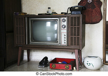 Traditional props in South Korea,TV