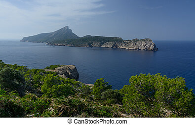 Dragonera - The island Dragonera, one of many natural...