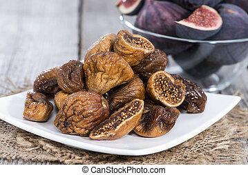 Dried Figs - Portion of fresh dried Figs