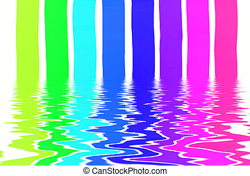 abstract background - fine illustration of colorful abstract...