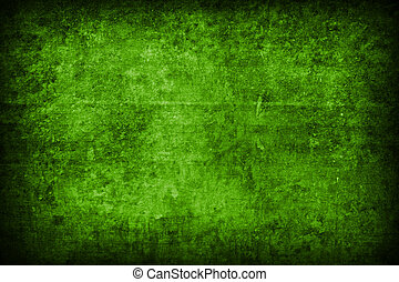 grunge green abstract background - fine image of grunge...