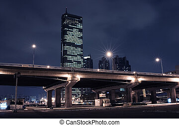 "Beautiful night view of ""Han"" River in south korea 63..."