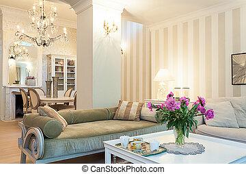 Vintage mansion - coffee area