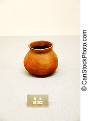 Neolithic pottery artifacts of Korea