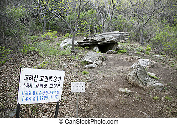 Historical district in South Korea,Dolmen Cemetery