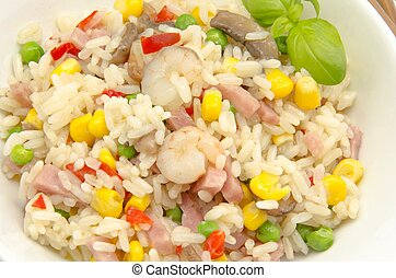 Rice - Delicious fried rice stew