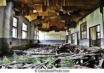 Closing a school building