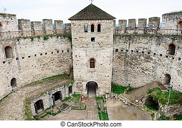 Soroca fortress, Republic of Moldova - Inner yard of Soroca...