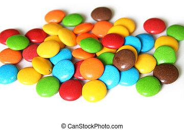 coloridos, bala doce