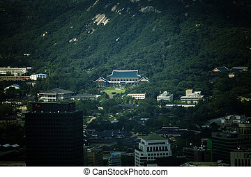 the Presidential Palace,Cheonghwadae