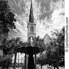 Church in Charleston, SC - Beautiful church in Charleston,...