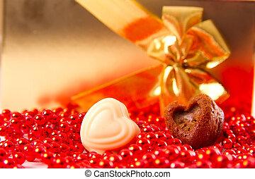 heart on Valentine's Day