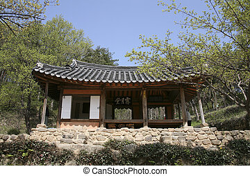 Traditional houses in south korea,soswaewon