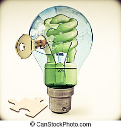 Key to Alternative Energy, Concept