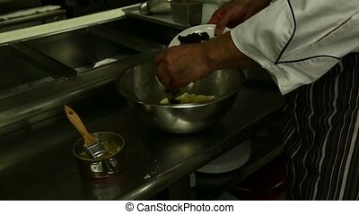 Preparing Pasty Mix - Preparing Pastry Mix