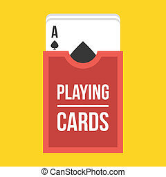 Vector Deck of Playing Cards Icon