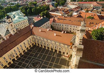University in Vilnius, Lithuania - Lithuania. Vilnius....
