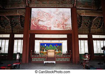 Gyeongbokgung Palace in South Korea