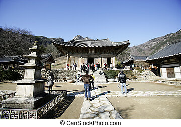 Naesosa temples in south korea