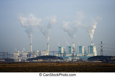 Fired power plants in south korea Industrial Complex