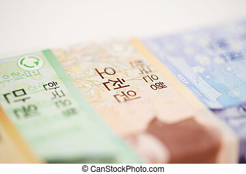 Money in south korea