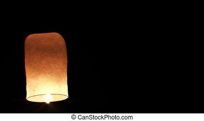 Beautiful Single Paper Lantern fly