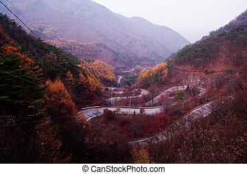 South Korea beautiful,Dannyang Bobaljae