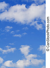 clouds - fine image of white clouds and blue sky