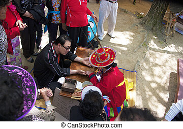 Traditional culture in south Korea,Astrological