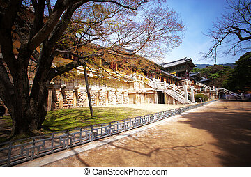 Bulguksa Temple in South Korea