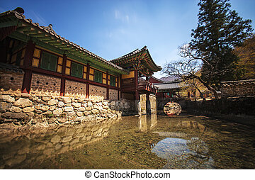 Songgwangsa temples in south korea