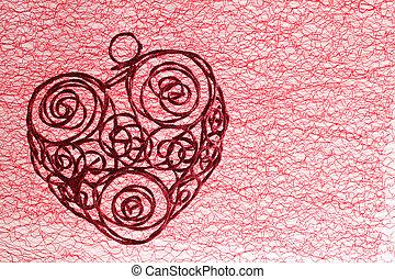 Coração,  valentines, Dia
