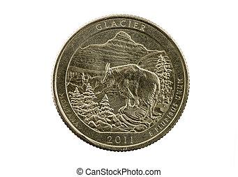 Glacier National Park Quarter - Glacier National Park...