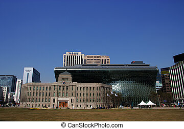 Seoul City Hall Plaza