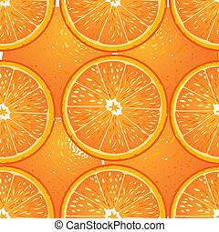 Seamless texture of juicy oranges