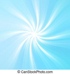 Abstract radial blue background. - Abstract retro blue...